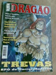 1ª edição de Trevas como revista especial da Dragão Brasil.