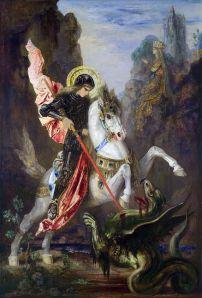 São Jorge derrotando a Cuca.