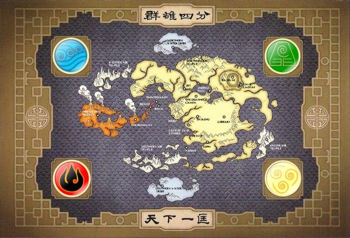 Mapa Avatar