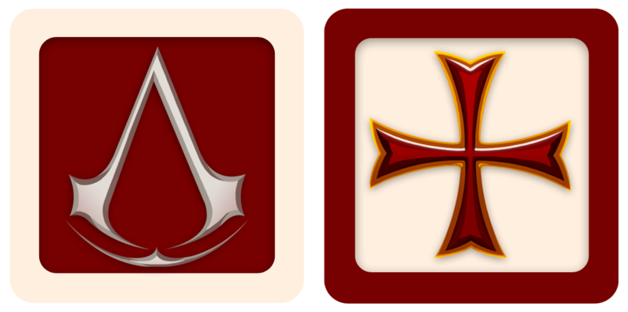 картинки знака ассасинов и тамплиеров восемь часов морозе