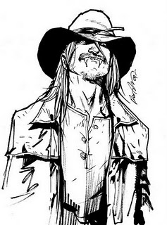 Skinner Sweet, um vampiro americano.
